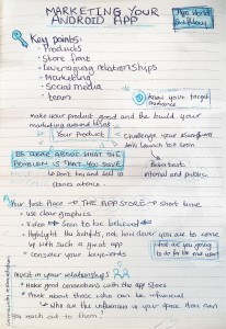 notes on app marketing-half