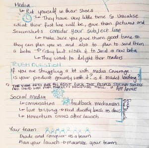 notes on app marketing- second half